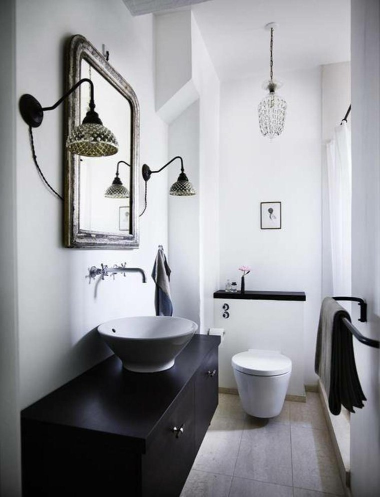 Deco Wc Noir Et Blanc. Affordable Superbe Deco Wc Noir Et Blanc ...