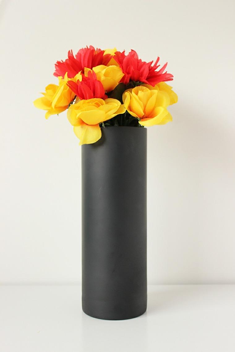 Vase noir design  ides de dcoration