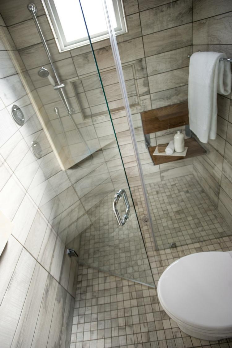 Salle de bain avec douche italienne en quelques ides dco