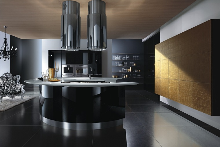 cuisine tres moderne