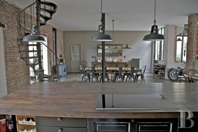 suspension luminaire cuisine design