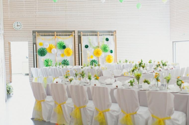 Decoration Mariage Jaune Et Vert  Decormariagetrnds