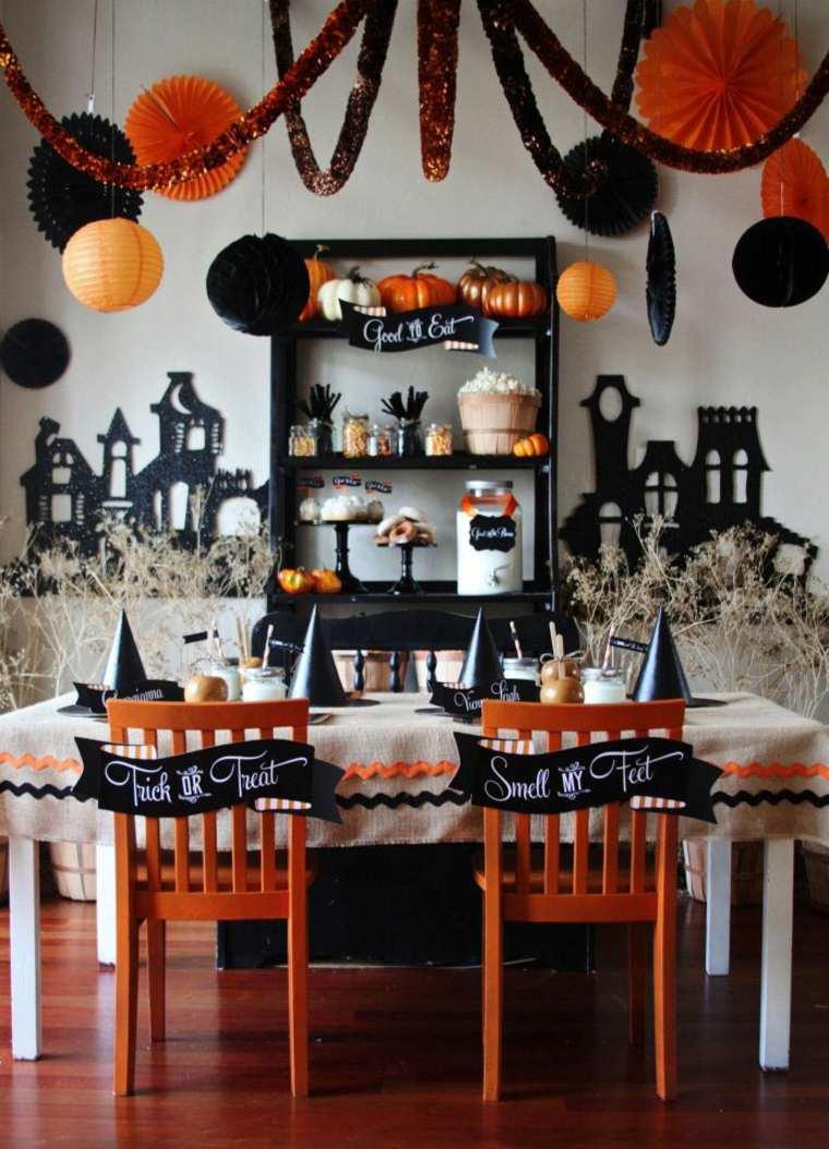 Dcoration Halloween maison en plus de 50 ides simples
