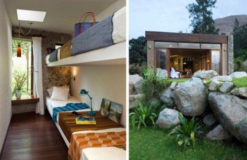 maison écolo matériaux verts écolo design moderne idée