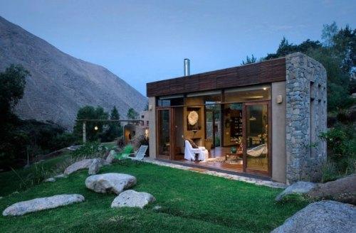consctruction écolo maison matériaux naturels verts design pérou