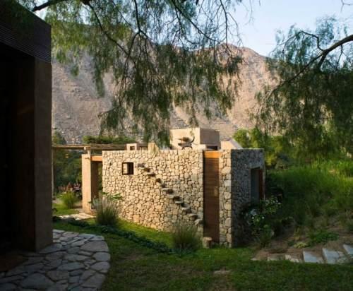matériaux ecolo idée construction maison pierre pérou maison écolo familiale rurale