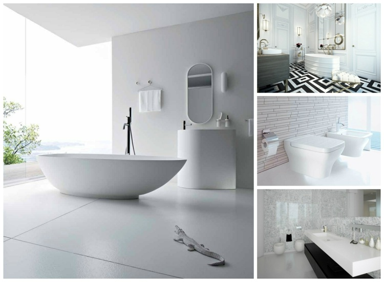 La Salle De Bains Blanche Design En 75 Idees