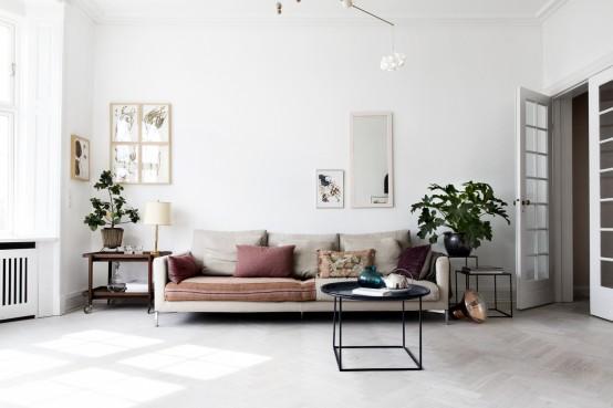Intrieur et design  un appartement  Copenhague par