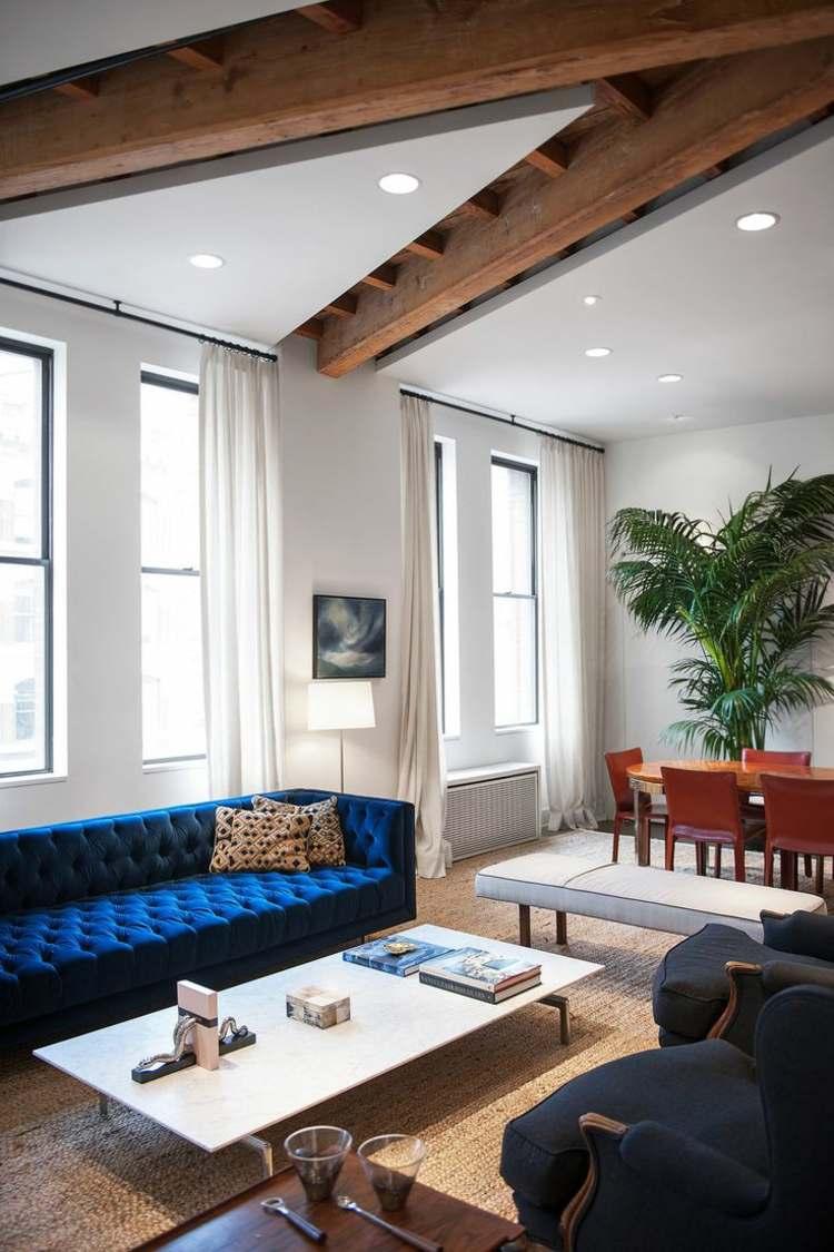 Canap velours le meuble parfait pour lintrieur moderne