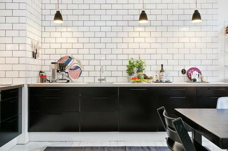 Emejing Cuisine Blanc Et Noir Pictures - Design Trends 2017