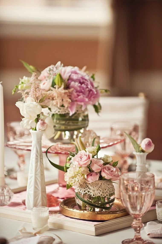 Dcoration mariage vintage  50 ides charmantes