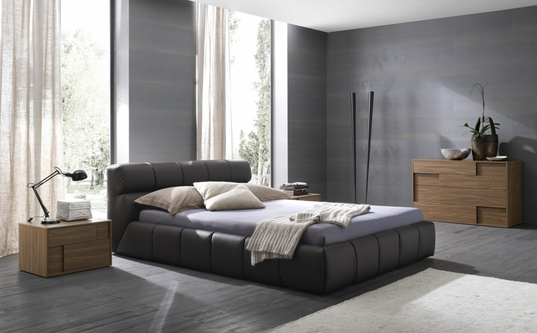 chambre grise 50 idees interessantes