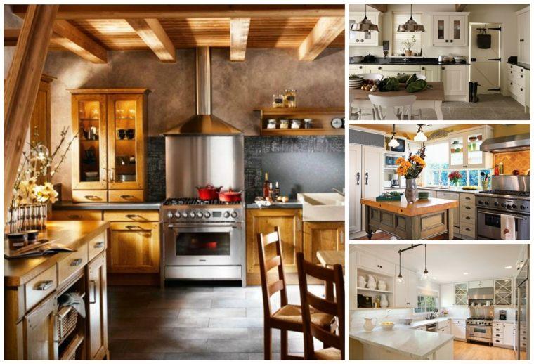 Cuisine Campagne Moderne 50 Ides Pour Un Dcor Chaleureux