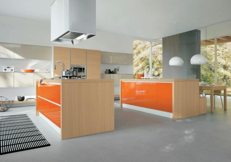 Cuisine orange  50 ides damnagement stimulantes