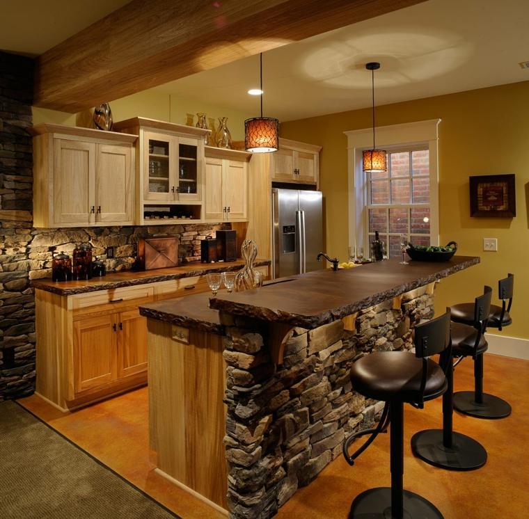 cuisine design avec ilot central