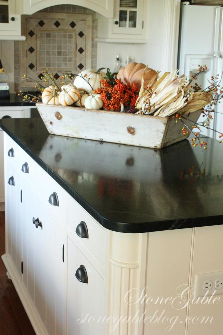 ilot central cuisine avec table