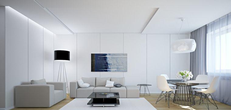 Dco Moderne Pour Le Salon 85 Ides Avec Canap Gris