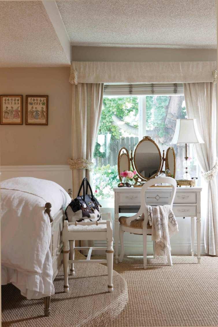 Dcoration chambre vintage du charme  l39ancienne