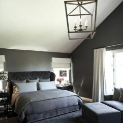Dark Grey Living Room Carpet For Feature Wall Chambre Grise: 50 Idées Intéressantes Et Inspirantes