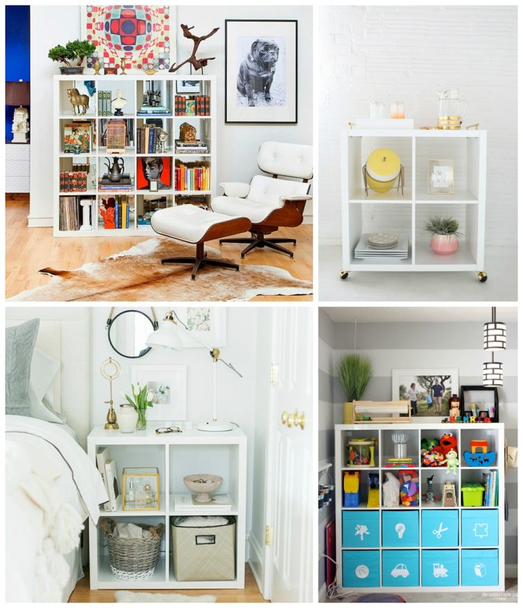 etagere ikea kallax differents idees