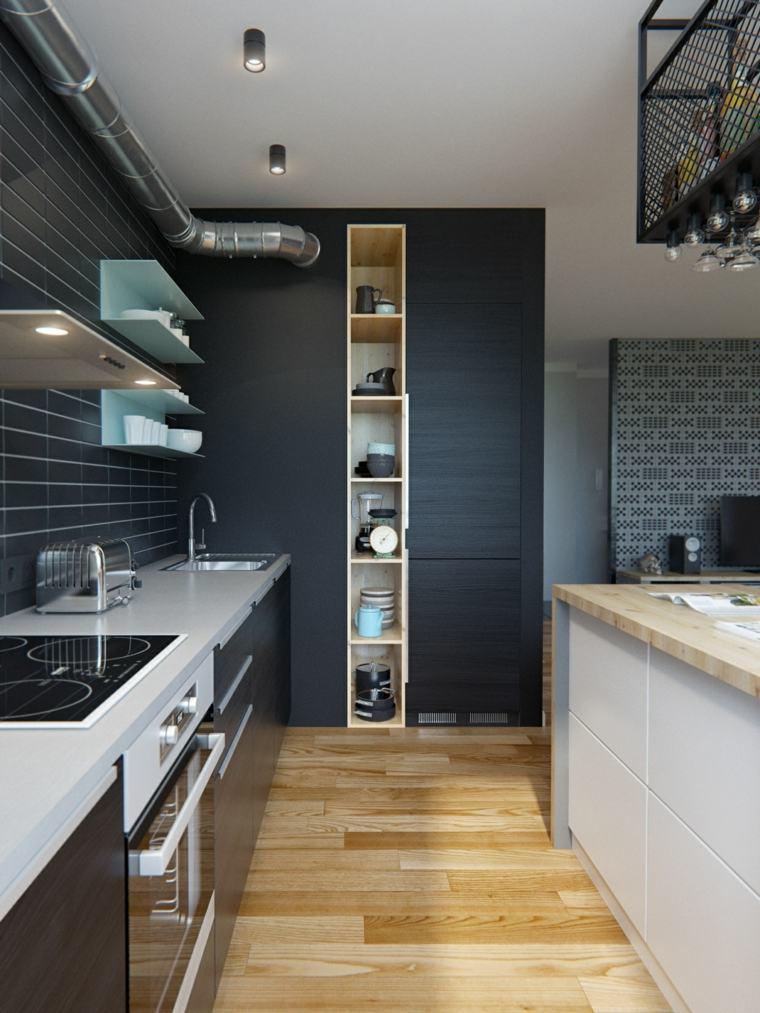petite cuisine ouverte design