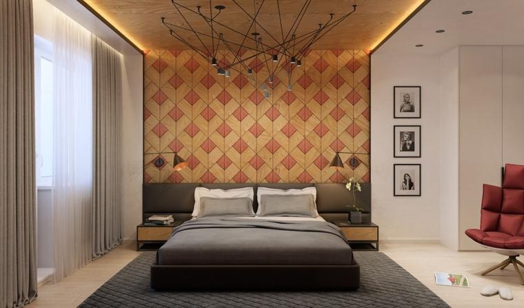 Habillage Mur Pour La Chambre Coucher En 30 Ides