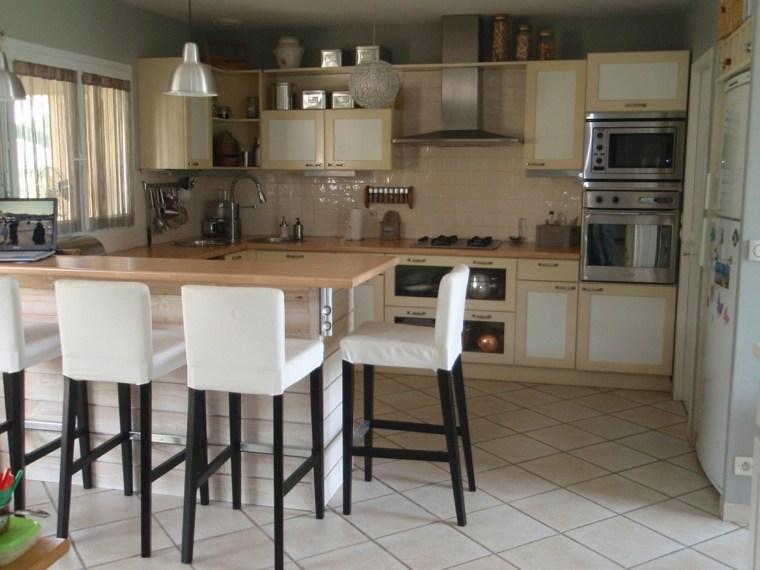 Chaise pour ilot de cuisine accueil chaise hauteur 45cm for Cuisine avec bar pour manger