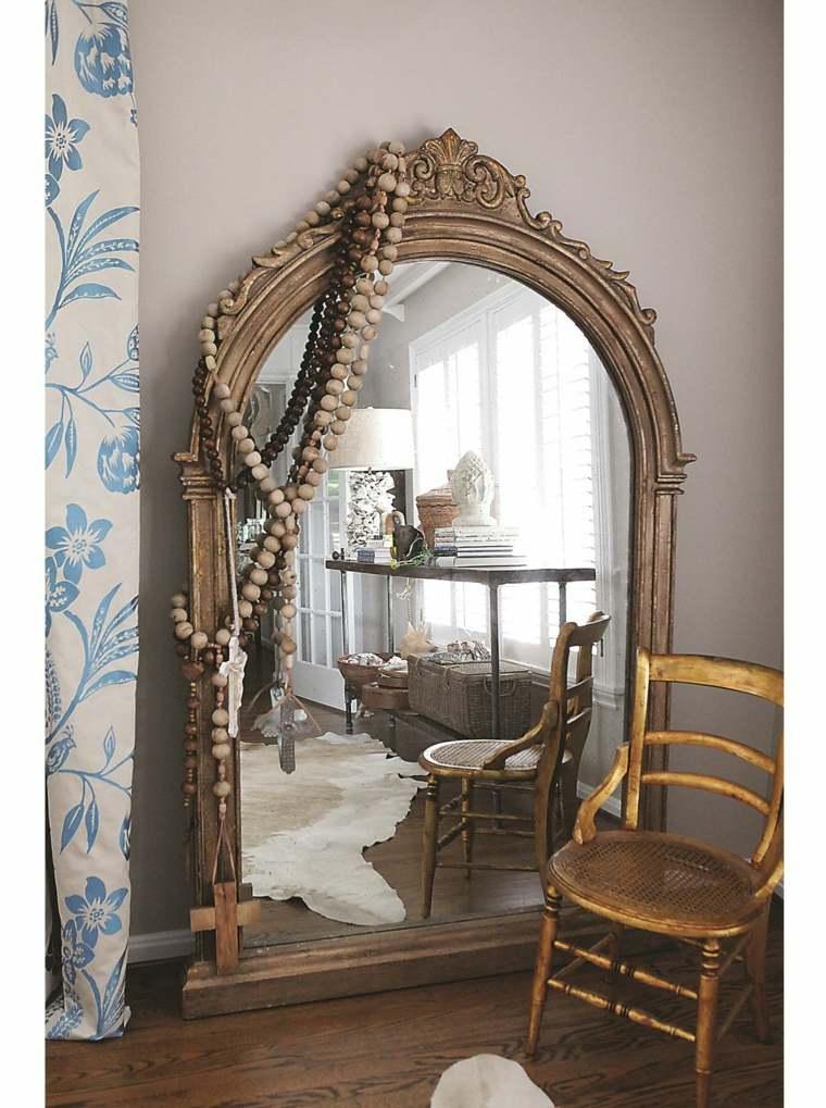 Grand miroir dor  ides pour une dcoration intrieur russie
