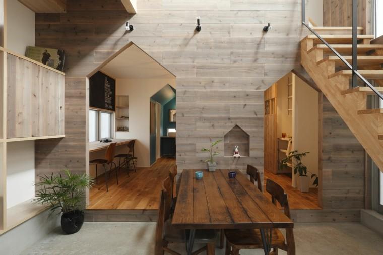 interieur maison bois quels materiaux