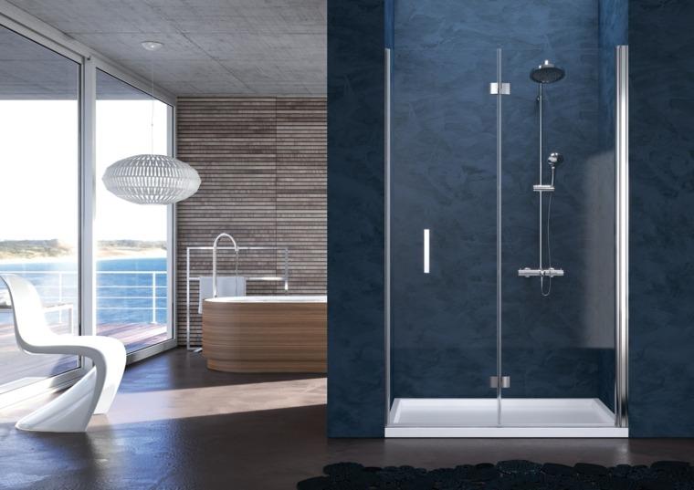 Salle de bain douche moderne  quelles sont les options