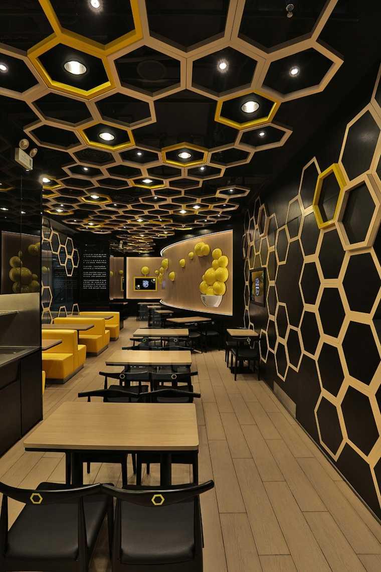 Faux Plafond Design Voyage Dans 16 Restaurants