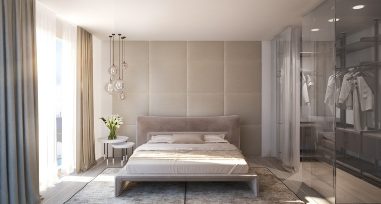 Latest Wall Paint Texture Designs For Bed Room Habillage Mur Pour La Chambre à Coucher En 30 Idées