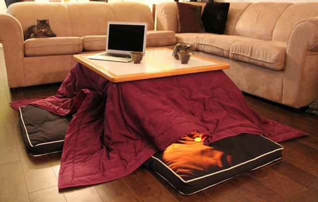 Kotatsu  linvention japonaise pour un hiver au chaud