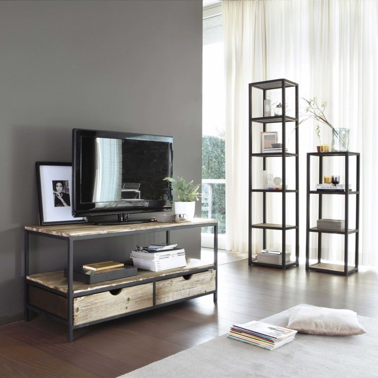 mini sofa bed singapore 4 seat size meuble tv bibliothèque design en 50 idées inspirantes