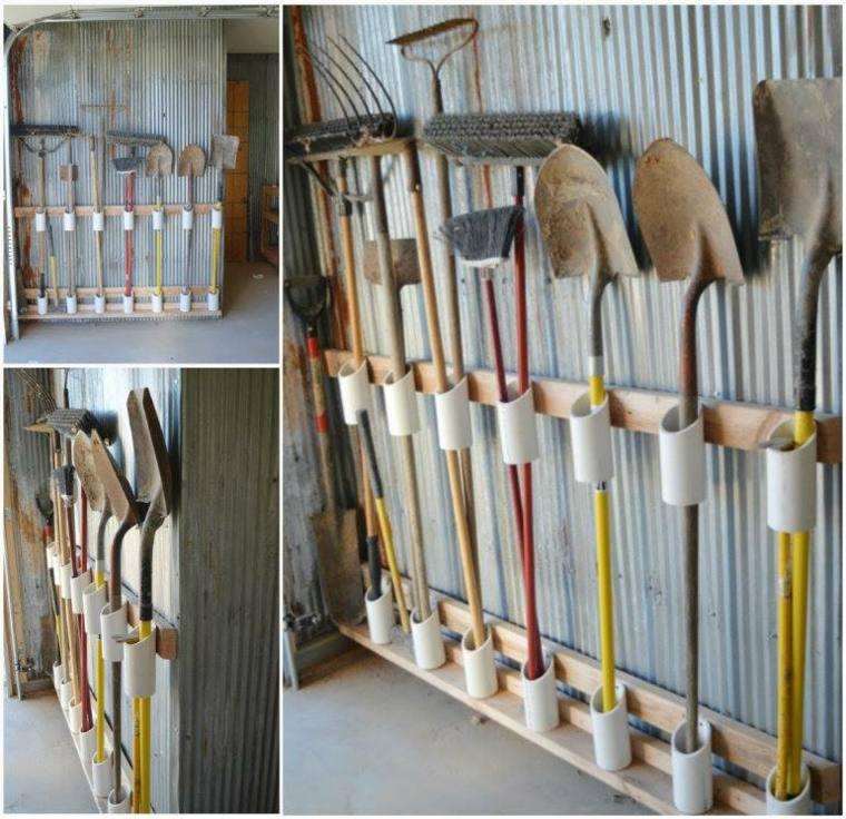 range outils de jardin et organisation