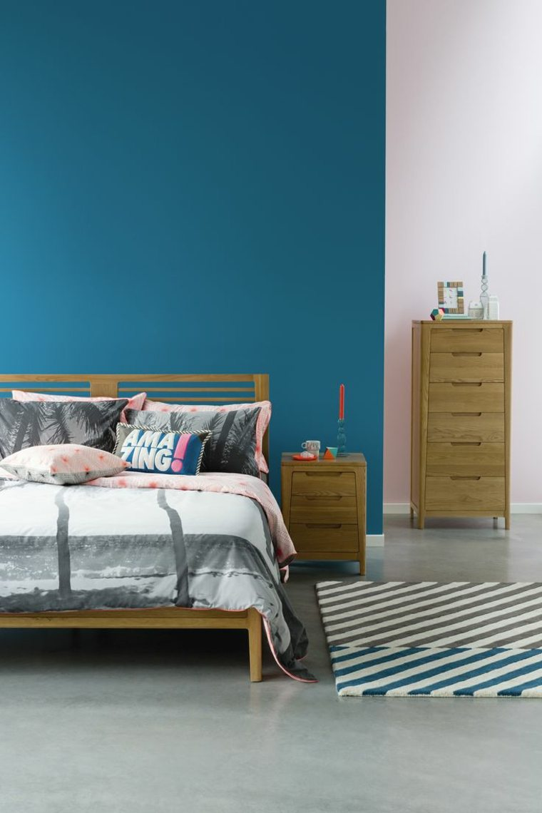 Dco Chambre Bleu Calmante Et Relaxante En 47 Ides Design