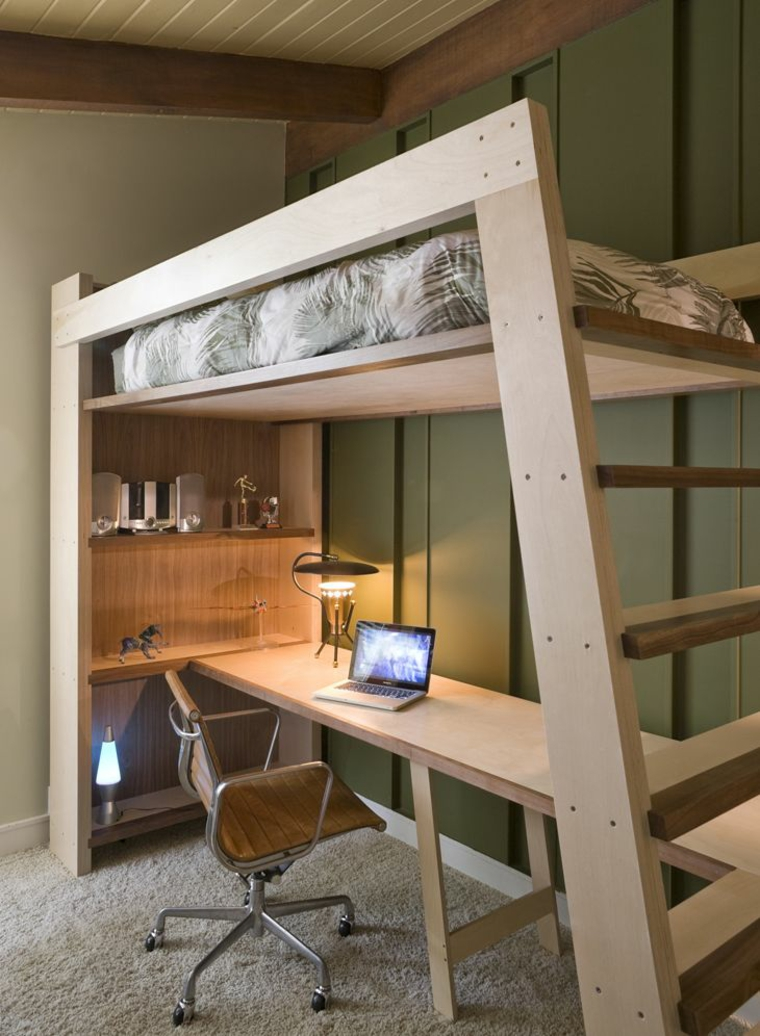 Diy Elevated Desk Bureau Mezzanine En 56 Idées Inspirantes