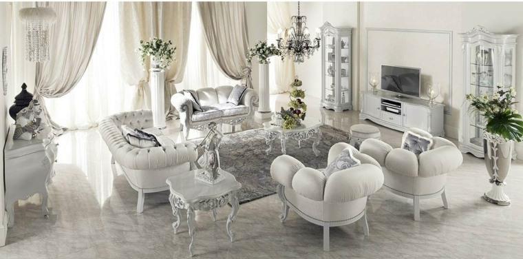 Table baroque par Modenese Gastone Groupe