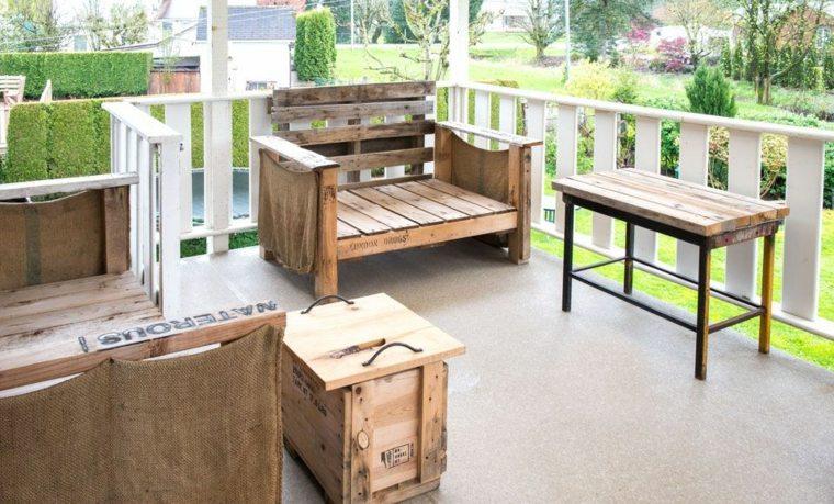 Salon De Jardin Palette Bois Fabrication Avantages Entretien   Ifmore
