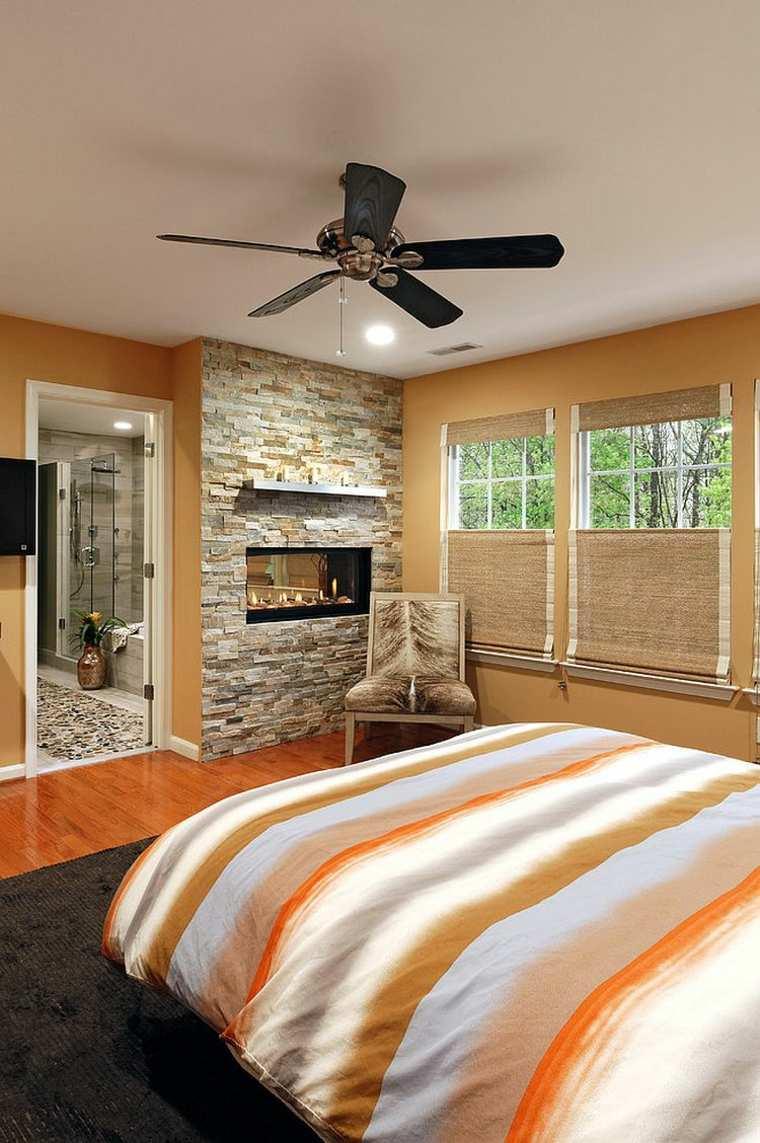 Mur de pierre pour une belle dco texture dans la chambre