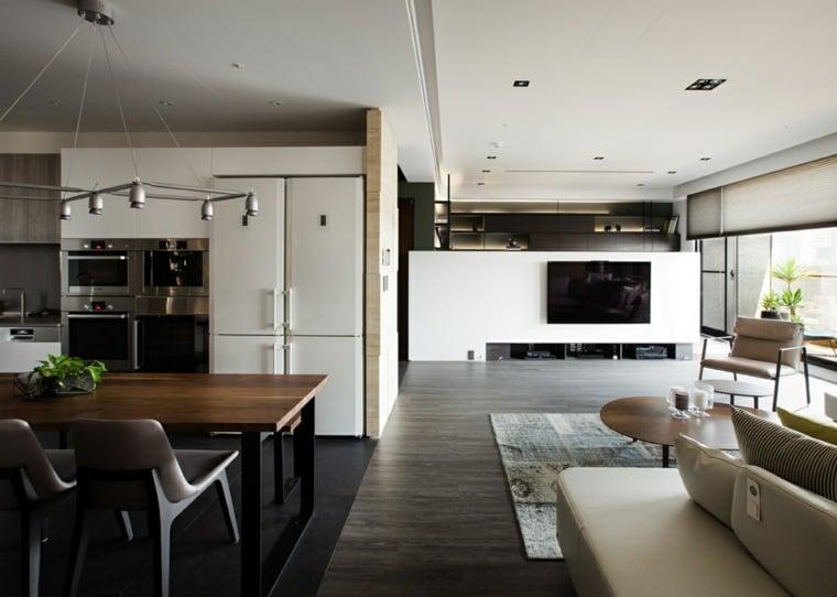 Intrieur maison moderne avec dcoration asiatique