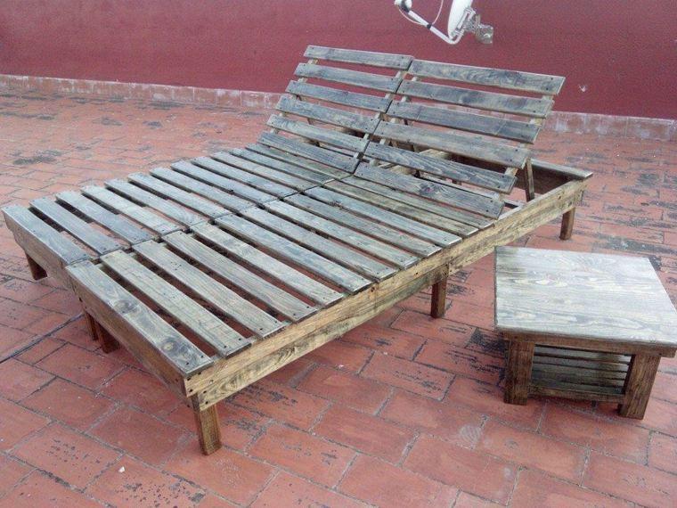 Fabriquer Chaise Longue En Palette