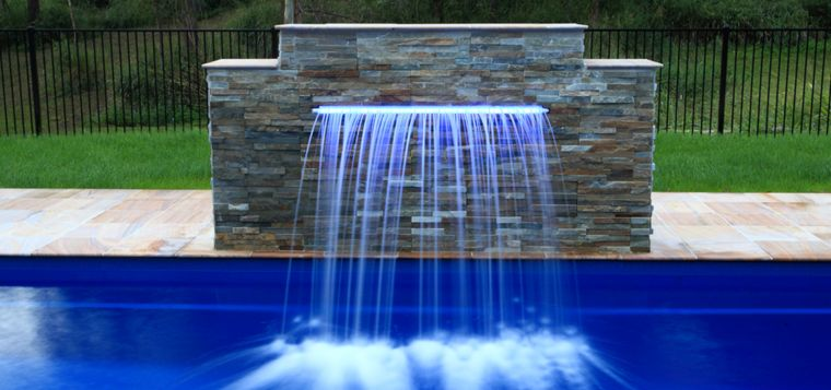 Fontaine murale extrieure pour jardin terrasse et piscine