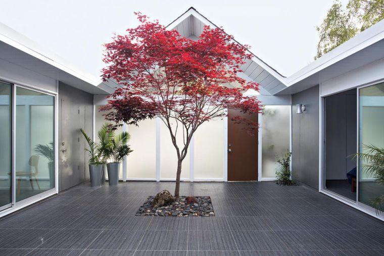 Petit jardin dintrieur moderne ouvert et ferm en 49 images