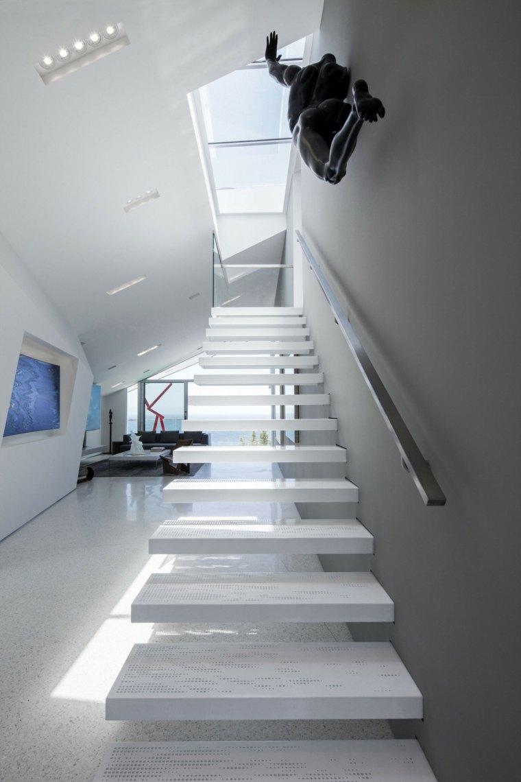 Escalier intrieur contemporain en 75 images superbes