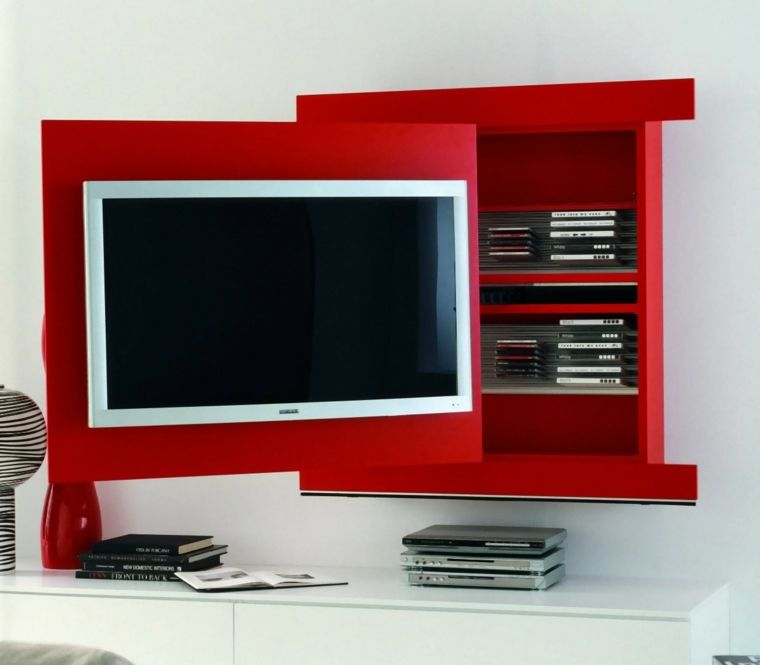 meuble d angle tv de style contemporain