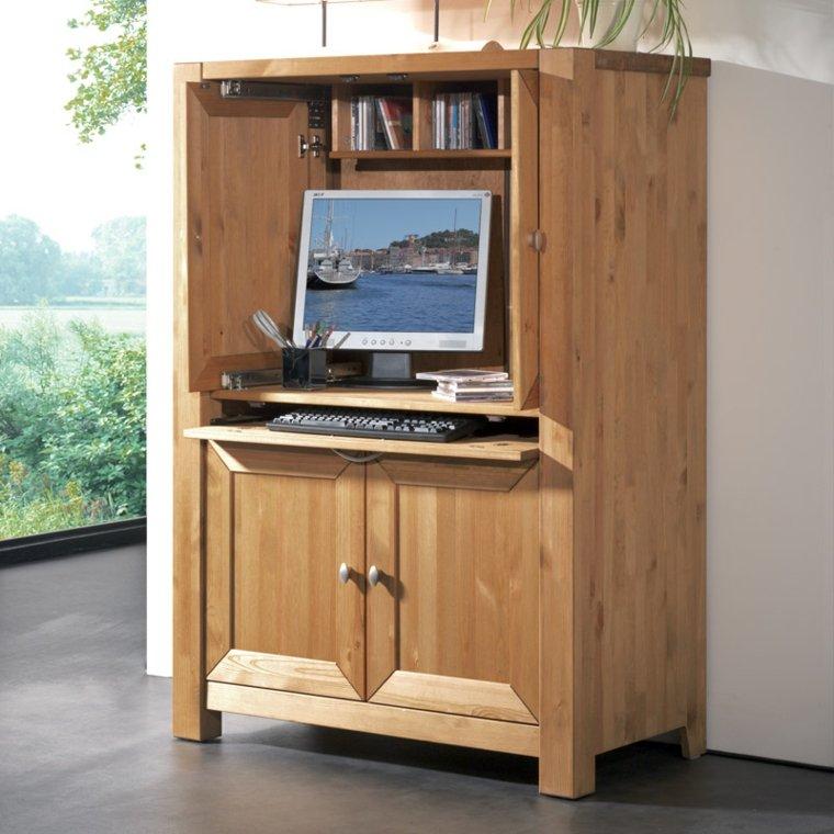 armoire informatique et bureau pour