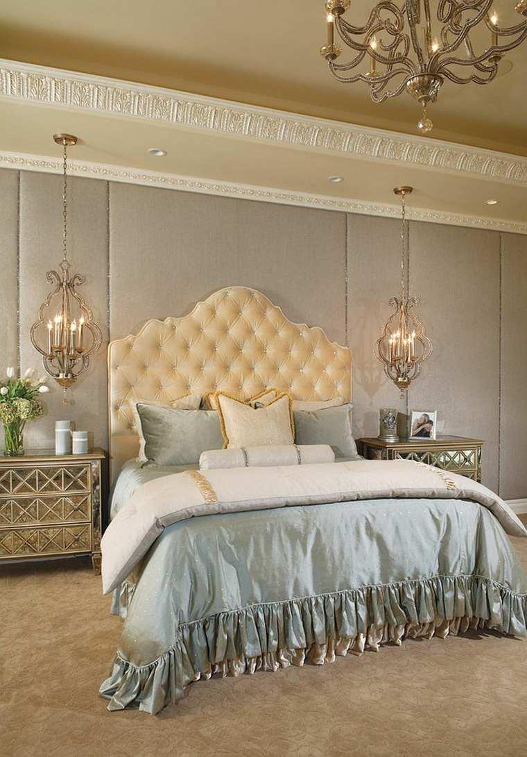Dco chambre parentale de style victorien classique et moderne