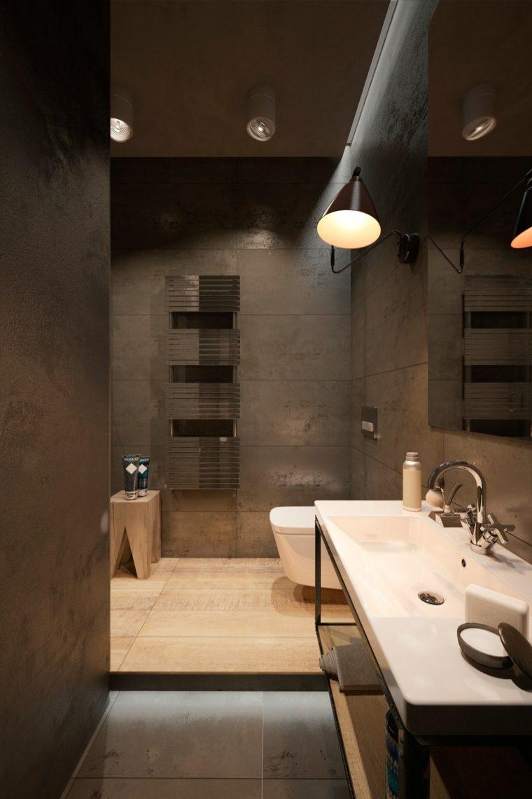 Salle de bain en bton cir pour un amnagement tendance