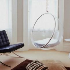 Orange Chair Salon Intex And Ottoman Siège Suspendu Design Pour Un Intérieur Original Et élégant